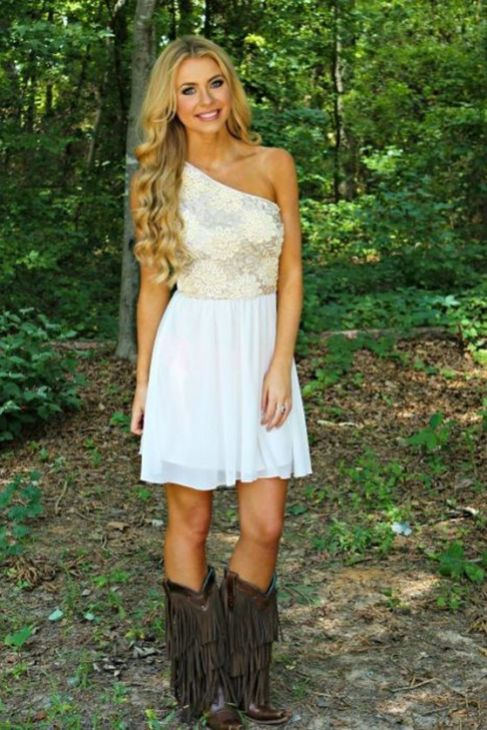 20 Best country western dresses for weddings 13