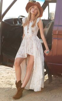 20 Best country western dresses for weddings 15
