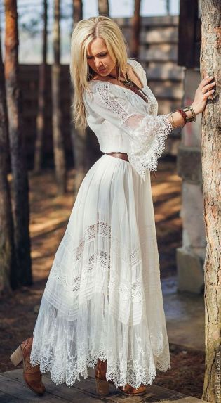 20 Best country western dresses for weddings 16