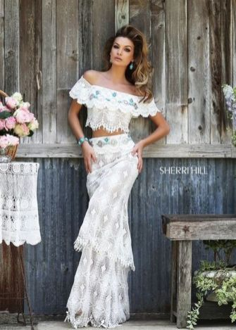 20 Best country western dresses for weddings 18