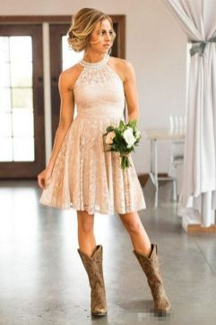 20 Best country western dresses for weddings 2