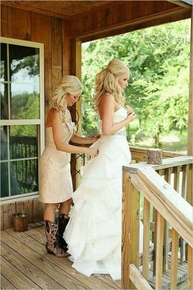 20 Best country western dresses for weddings 20