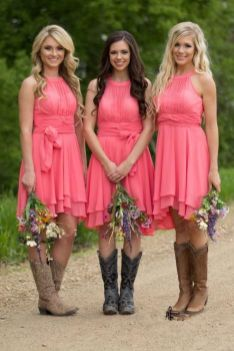 20 Best country western dresses for weddings 9