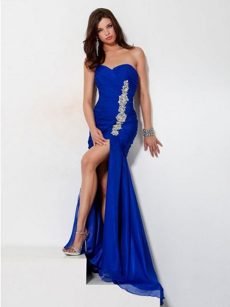 20 Elegant long prom dress sexy sweetheart mermaid party dresses 14