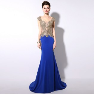 20 Elegant long prom dress sexy sweetheart mermaid party dresses 2