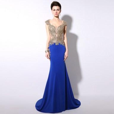 20 Elegant long prom dress sexy sweetheart mermaid party dresses 2