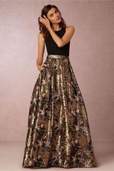 20 Gold Prom Dresses Flower ideas 2