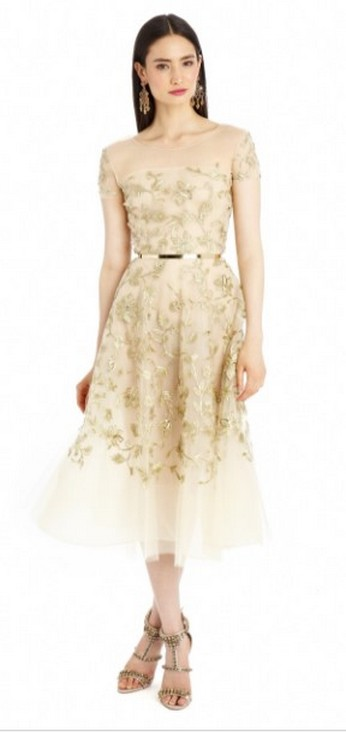 20 Gold Prom Dresses Flower ideas 8