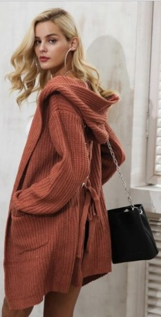 20 Long Sweater Cardigan Pocket Ideas 11
