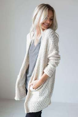 20 Long Sweater Cardigan Pocket Ideas 2