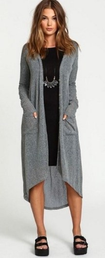 20 Long Sweater Cardigan Pocket Ideas 6