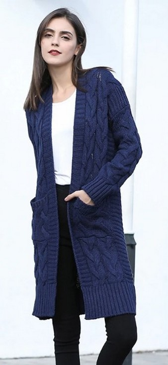 20 Long Sweater Cardigan Pocket Ideas 7