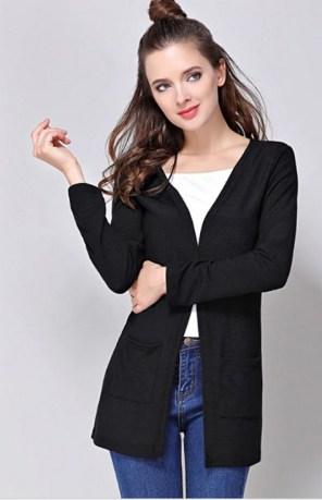 20 Long Sweater Cardigan Pocket Ideas 8