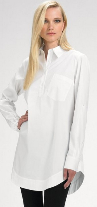 20 White Tunic Shirts for Women 17