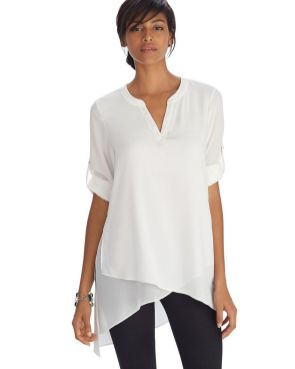 20 White Tunic Shirts for Women 5