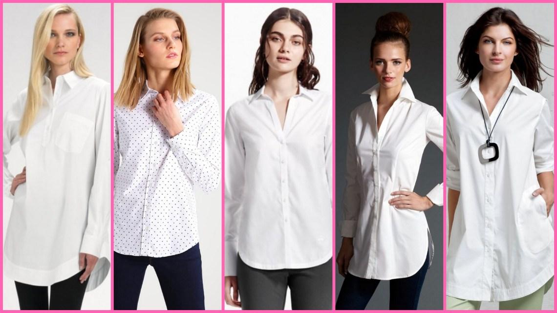 20 White Tunic Shirts for Women Ideas 2018