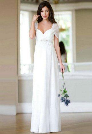 27 Simple White Long Sleeve Wedding Dresses ideas 6