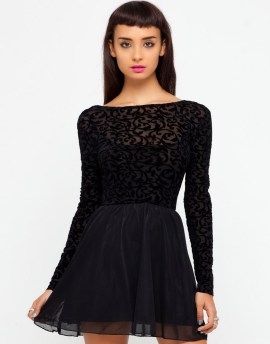 30 About ideas skater dress black That You Need to See 10