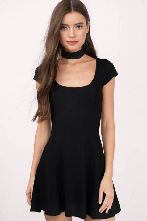 30 About ideas skater dress black That You Need to See 9