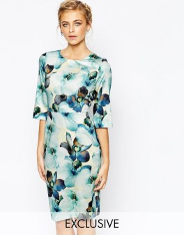 30 Women Print Dresses with sleeves Ideas 26