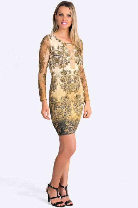 30 Women Print Dresses with sleeves Ideas 28