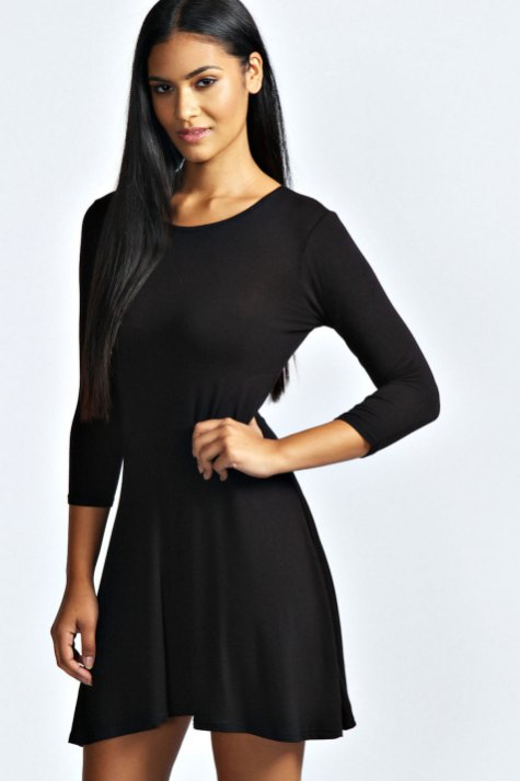 30 ideas skater dress black to Follow 11