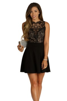 30 ideas skater dress black to Follow 16