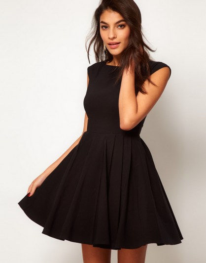 30 ideas skater dress black to Follow 6