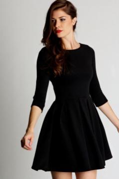 30 ideas skater dress black to Follow 7