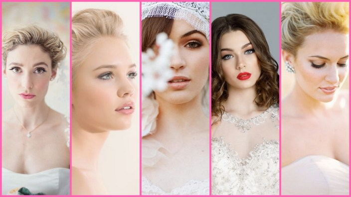 35 Bridal Makeup When Wedding in the Daytime