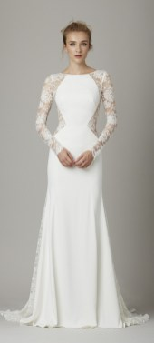 40 High Low Long Sleeve Modern Wedding Dresses Ideass 1