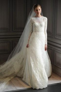 40 High Low Long Sleeve Modern Wedding Dresses Ideass 2