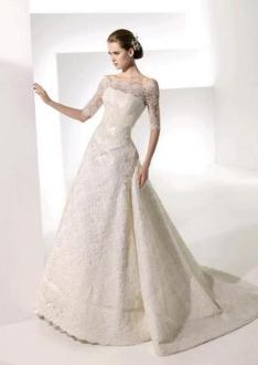 40 High Low Long Sleeve Modern Wedding Dresses Ideass 27