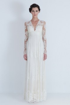 40 High Low Long Sleeve Modern Wedding Dresses Ideass 30