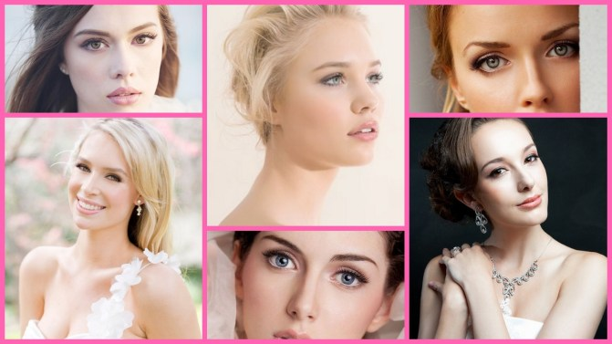 40 Soft and Romantic Wedding Makeup looks for fair skin