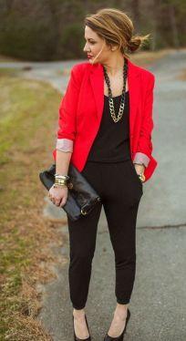 40 Womens red blazer jackets ideas 22