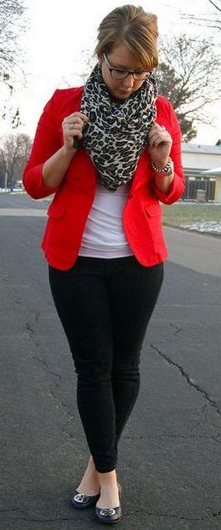 40 Womens red blazer jackets ideas 3