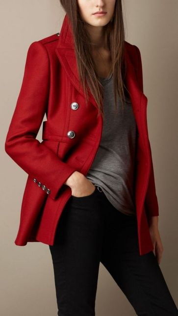 40 Womens red blazer jackets ideas 36