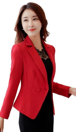40 Womens red blazer jackets ideas 39