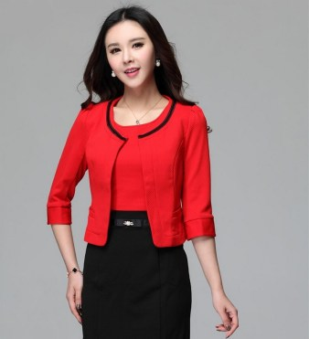 40 Womens red blazer jackets ideas 40