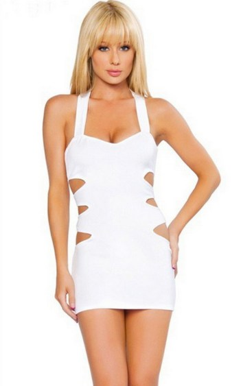 40 all white club dresses ideas 12