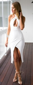 40 all white club dresses ideas 20
