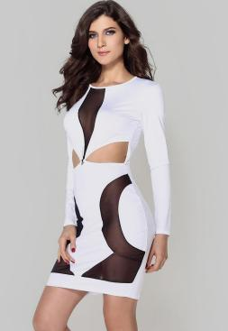 40 all white club dresses ideas 23