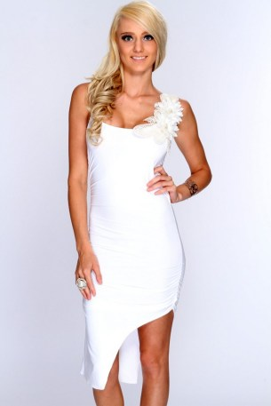40 all white club dresses ideas 25