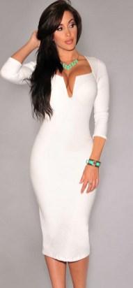 40 all white club dresses ideas 33
