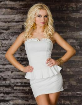 40 all white club dresses ideas 35