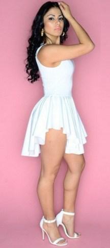 40 all white club dresses ideas 41