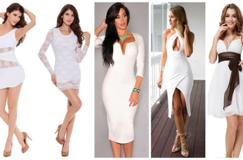 40 all white club dresses ideas