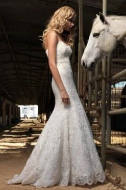 40 wedding dresses country theme ideas 20