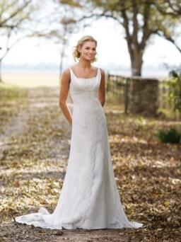 40 wedding dresses country theme ideas 28